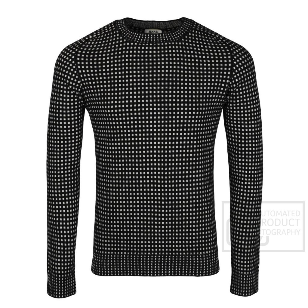 acne jumper clothing photography