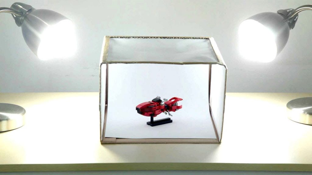 diy product photography box